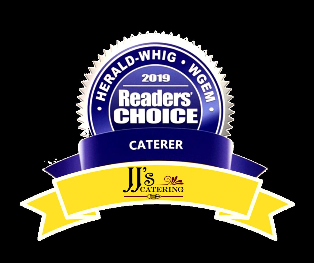 Herald Whig Best Caterer 2019 - Transparent